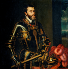 Фото Портрет императора Карла V