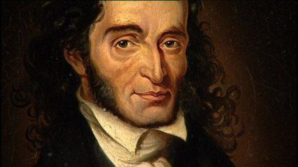 Фото Портрет композитора Николо Паганини