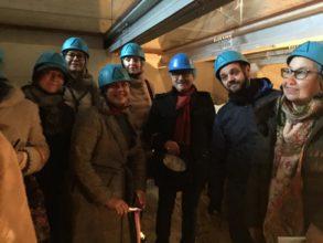 Фото Повышаем квалификацию. Гиды ассоциации в подземельях замка Кастель-Нуово в Неаполе